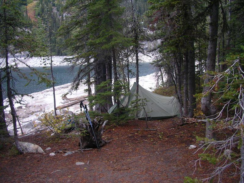 My tiny little Sierra Designs tent.
