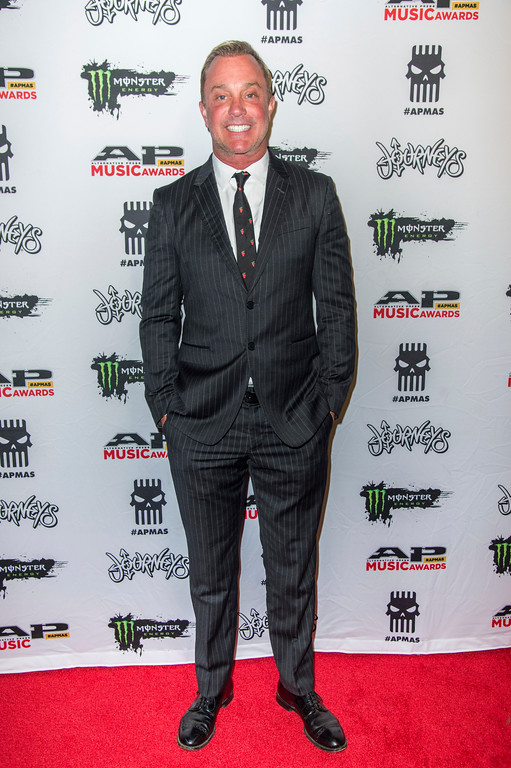. John Feldmann seen at 2017 Alternative Press Music Awards at the KeyBank State Theatre on Monday, July 17, 2017, in Cleveland. (Photo by Amy Harris/Invision/AP)