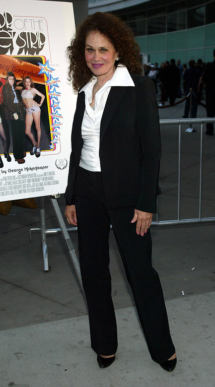 """. HOLLYWOOD - JUNE 17:  Actress Karen Black attends the film premiere of the \""""Mayor of the Sunset Strip\"""" at the Arclight Cinerama Dome on June 17, 2003 in Hollywood, California.  The film is the Centerpiece Premiere of the Los Angeles Film Festival.  The premiere is sponsored by Gateway, Inc.  (Photo by Frederick M. Brown/Getty Images)"""