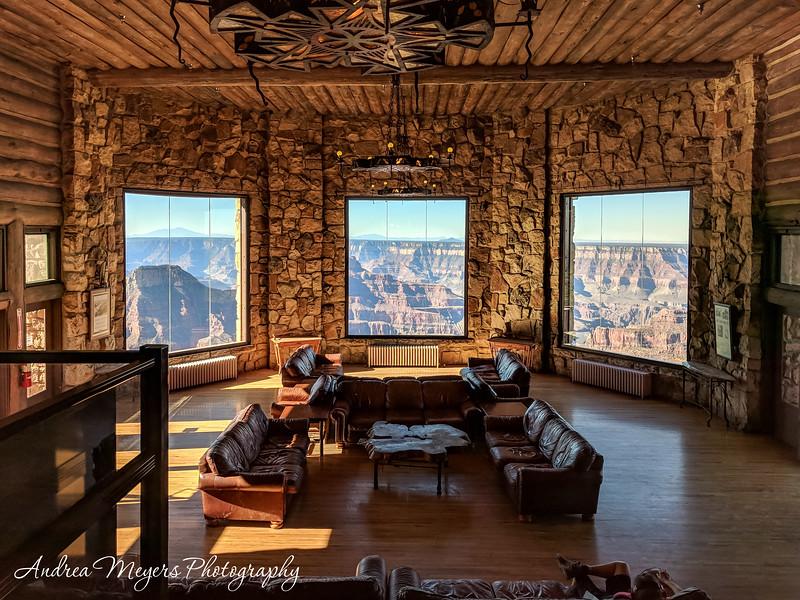 A Room with a View, Grand Canyon Lodge, North Rim, Arizona