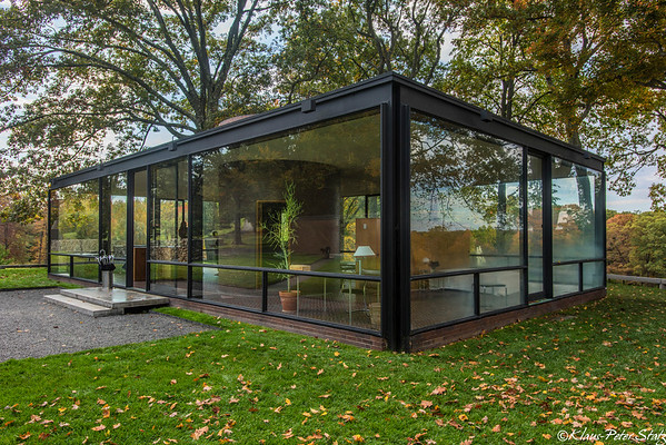 Philip Johnson's Glass House & Bear Mountain October 2014