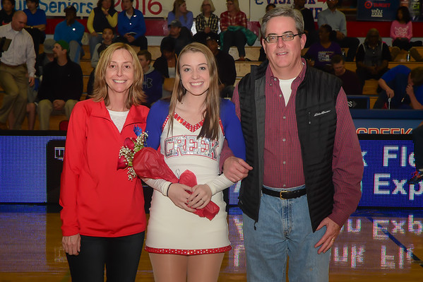 2016 Cherry Creek Bruins Senior Night - February 12th 2016