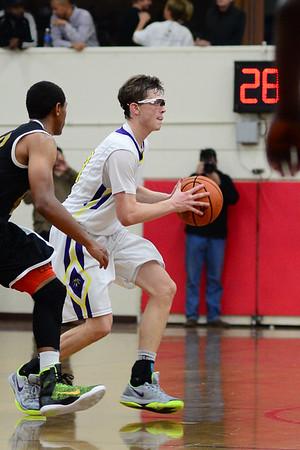 Parker Basketball vs St Augustine, 1-19-15