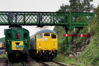 Mid-Hants Railway Diesel Gala: September 2014.