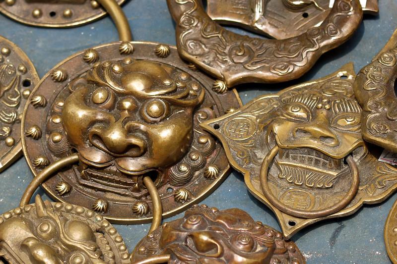 Door Accessories. Cat Street, HK.