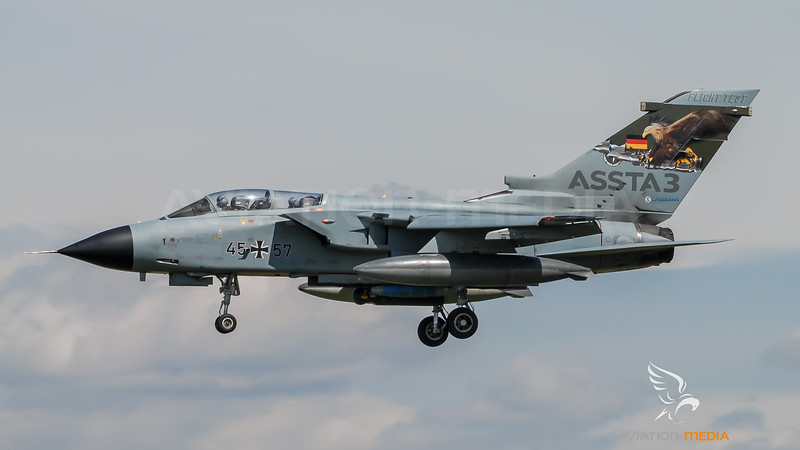 German Air Force WTD-61 / PANAVIA Tornado IDS / 45+57 / ASSTA 3 Livery