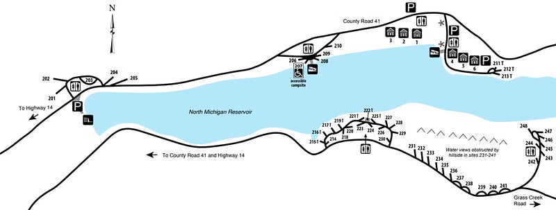 State Forest State Park (North Michigan Area)