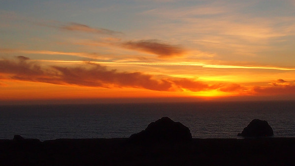 Gull Rock Sunset