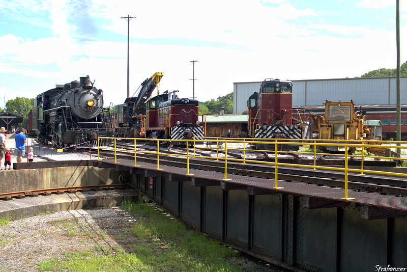 Tennessee Valley Railroad Museum  --  Soule Shops
