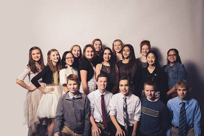 Klondike Middle School Snow Flake Shake 2016