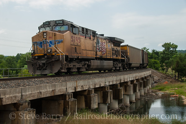 Union Pacific (on KCS) Sulpher Springs, Arkansas June 15, 2014