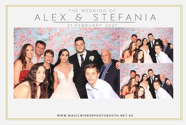 Alex & Stefania's Wedding - Conca D'oro Receptions