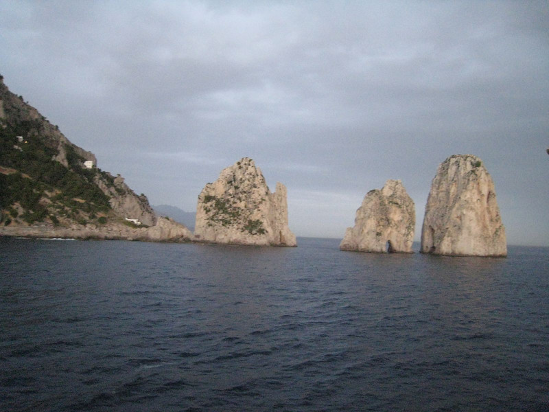 Cruising from Sorrento to Rome
