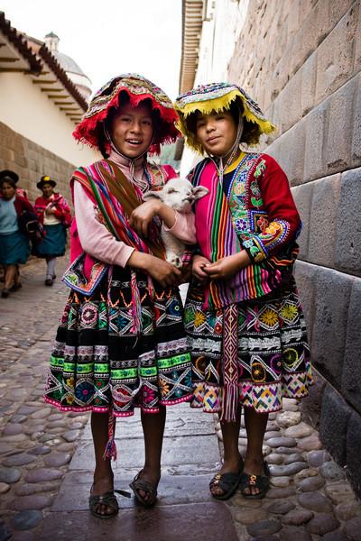 Quechua kids