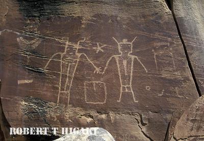 Dry Forks Petroglyphs, Vernal Utah