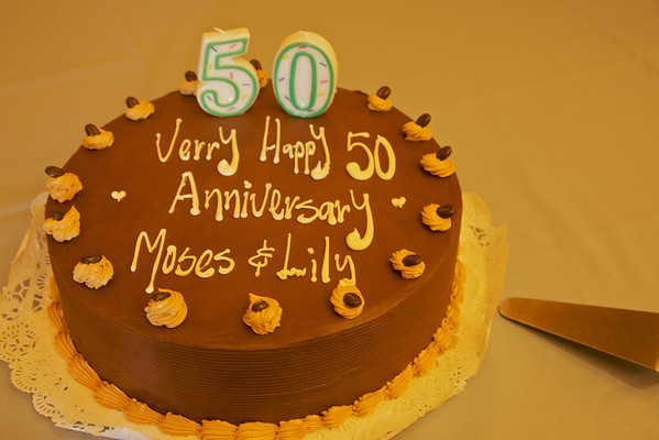 Our 50th Golden Wedding Anniversary Party Nov1,2009