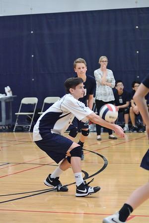 OE fresh. boys volleyball Vs Joliet West 2018