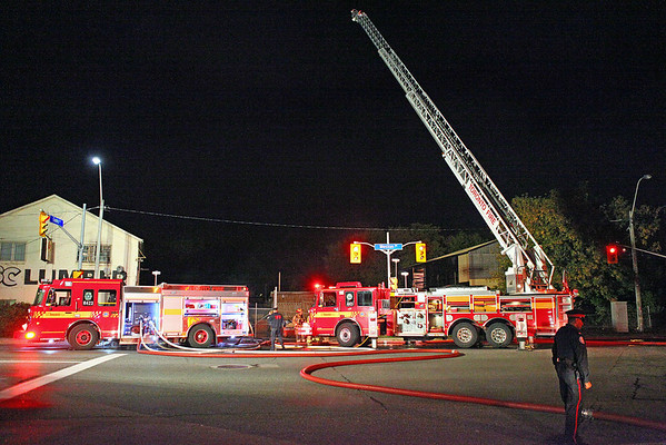 September 24, 2011 - 2nd Alarm - 153 Weston Rd.