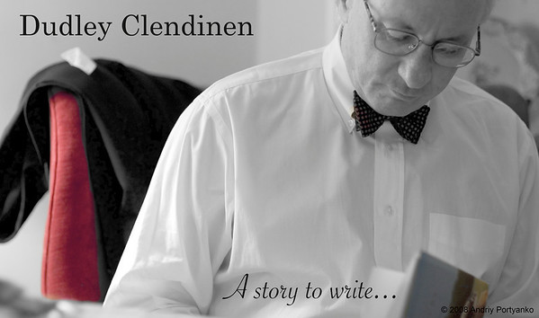 """Dudley Clendinen signing his new  book """" Place Called Canterbury"""""""