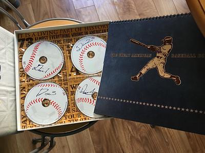 Baseball CD box set