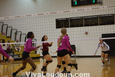 Volleyball: Stonewall Jackson at Freedom 10.4.2012 (by Bob Landis)