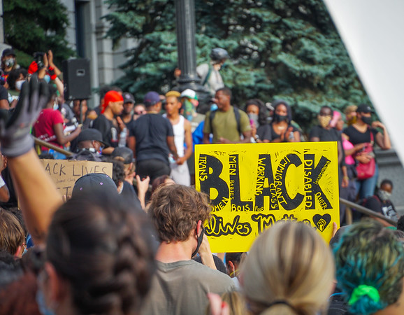 Black Lives Matter Colorado Protest Marches 2020