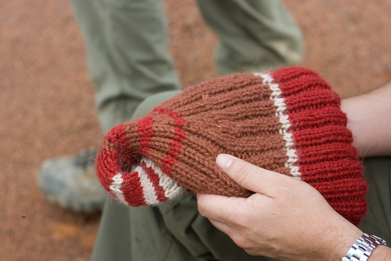 The Klein Bottle hat!