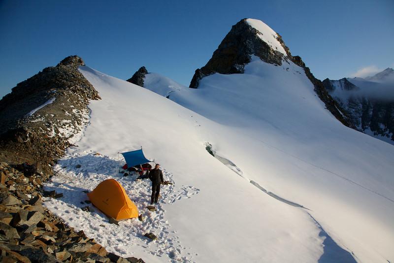 Pass 1 - Lyman Fork - 7000' - Revelation Mountains, Alaska.