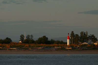DAY 158 - June 7, 2011 - Goose Spit at Sunset Cynthia Meyer, Comox, Vancouver Island, British Columbia, Canada