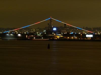 Skyline Night Shots from Coronado, 7-21-2011