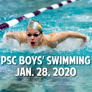 PSC Boys Swimming, Jan. 28, 2020