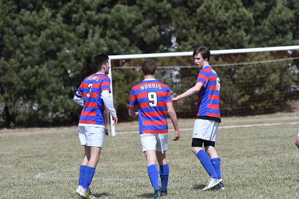 Varsity Boys Soccer vs Seward
