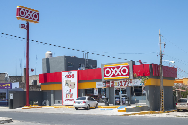 oxxo shop - to buy sim cards in mexico city