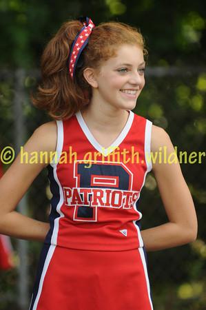 """2009 Just Peactree Patriot Cheerleaders """"PROOFS"""""""