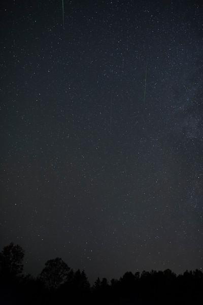 Orionids Meteor Shower Composite