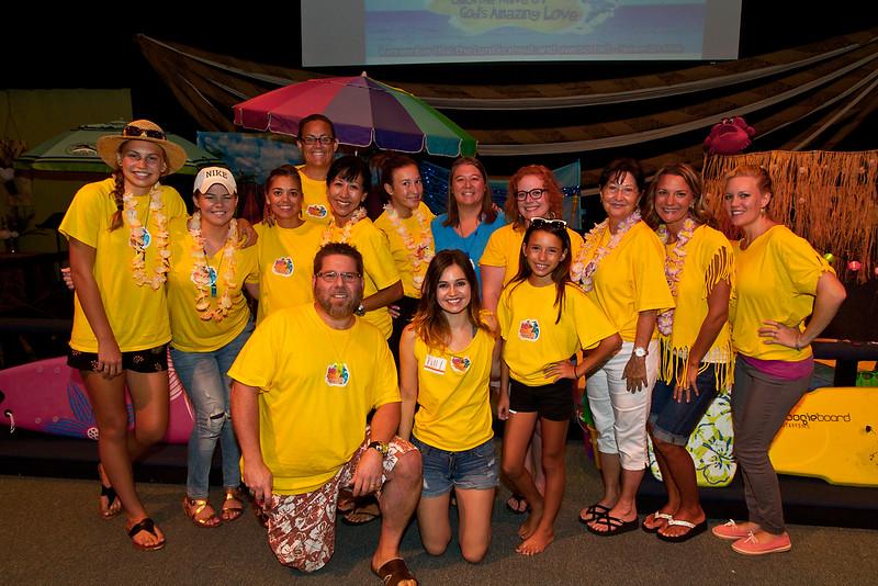 Beaches Vineyard 2016 Vacation Bible School volunteers