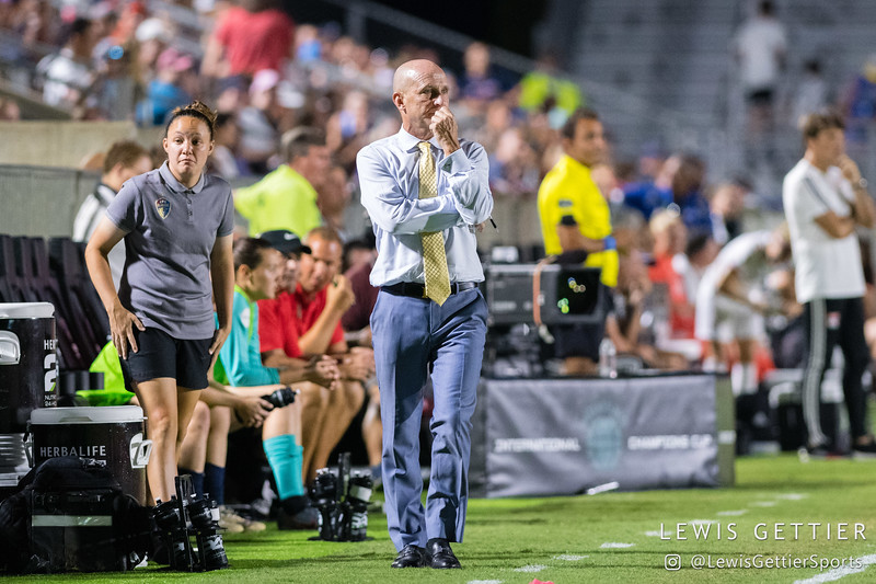 2019 Women's International Champions Cup - NC Courage vs Olympique Lyonnais