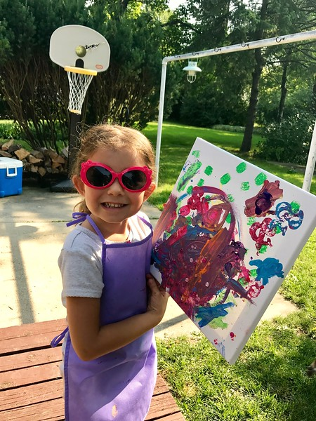 Wisconsin's  youngest artist