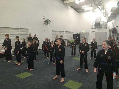 Combat Self Defence Grade Belt Assessments December 2018