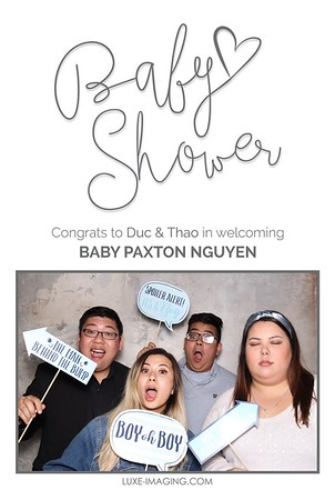 Welcoming Baby Paxton Overlays