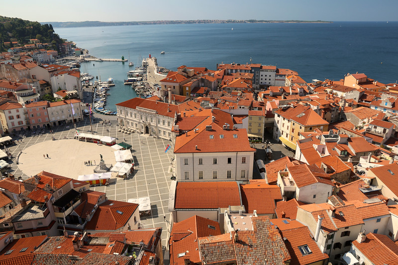 A bit of Venice in Slovenia's gem on the Adriatic - Tartini Square - Piran
