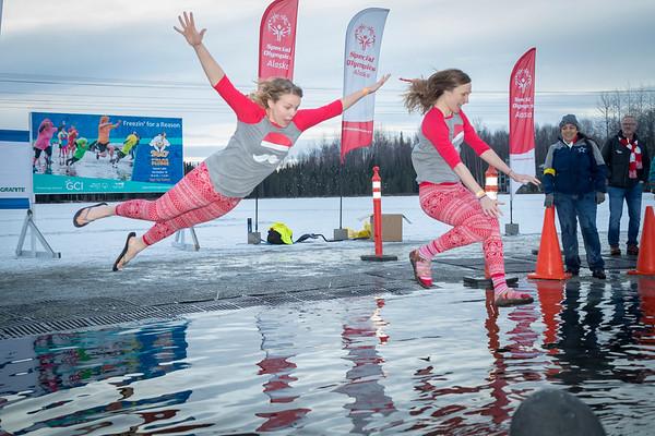 9th Annual Special Olymipics Alaska Polar Plunge 2017