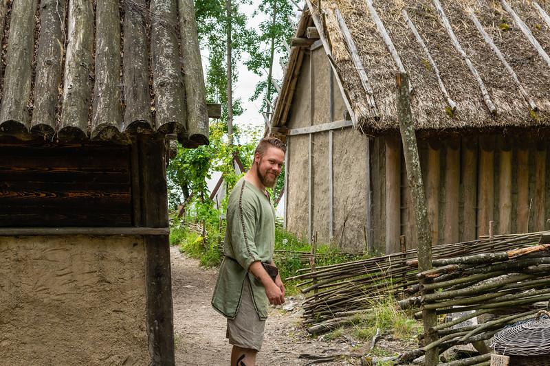 Birka, Viking age village