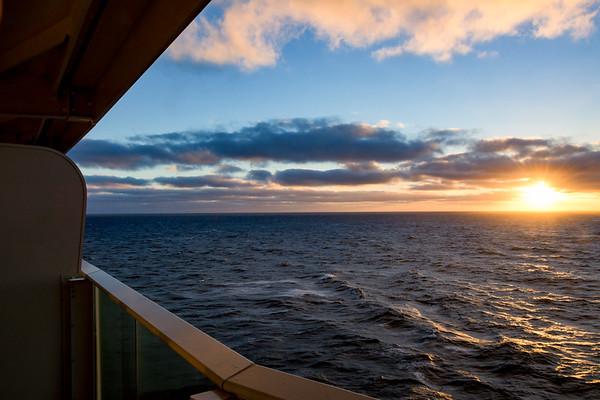 Day 9: At Sea