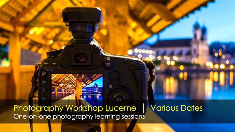 One-on-one photography workshop Lucerne