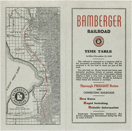 Bamberger Timetables