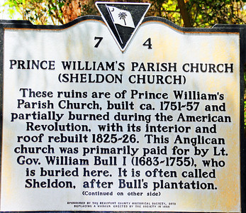 Old Sheldon Church SC