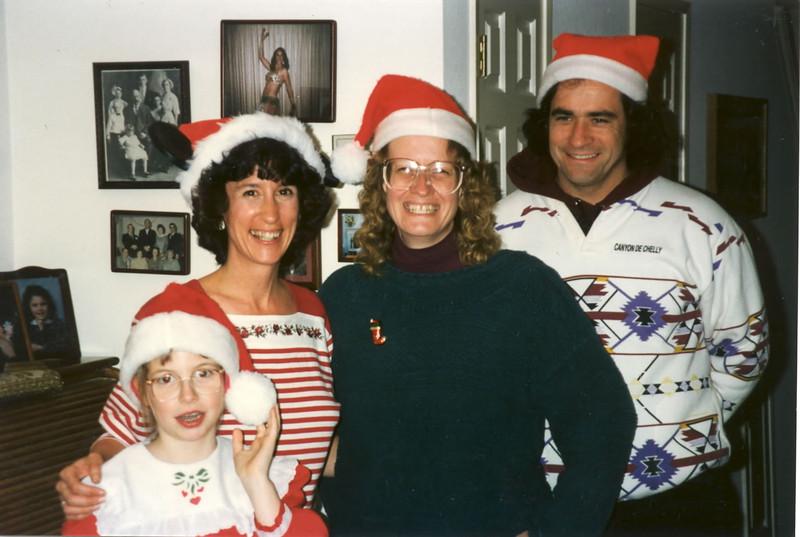 1996 Ellen and Jim with Sue Lindner & son