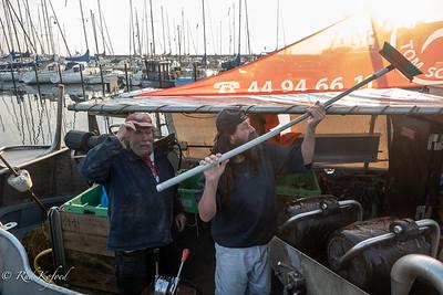 Fiskerlejet Sletten Havns fiskere