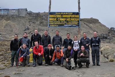 Annapurna Base Camp, Nepal  2013